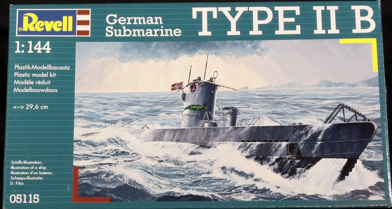 U-boot_type_IIB_1-144_revell_Box