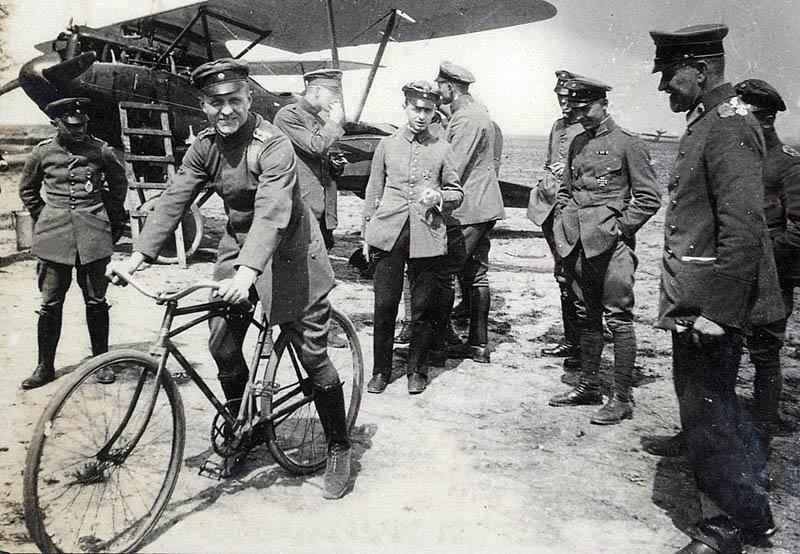 Von Richthofen y su Albatros DIII