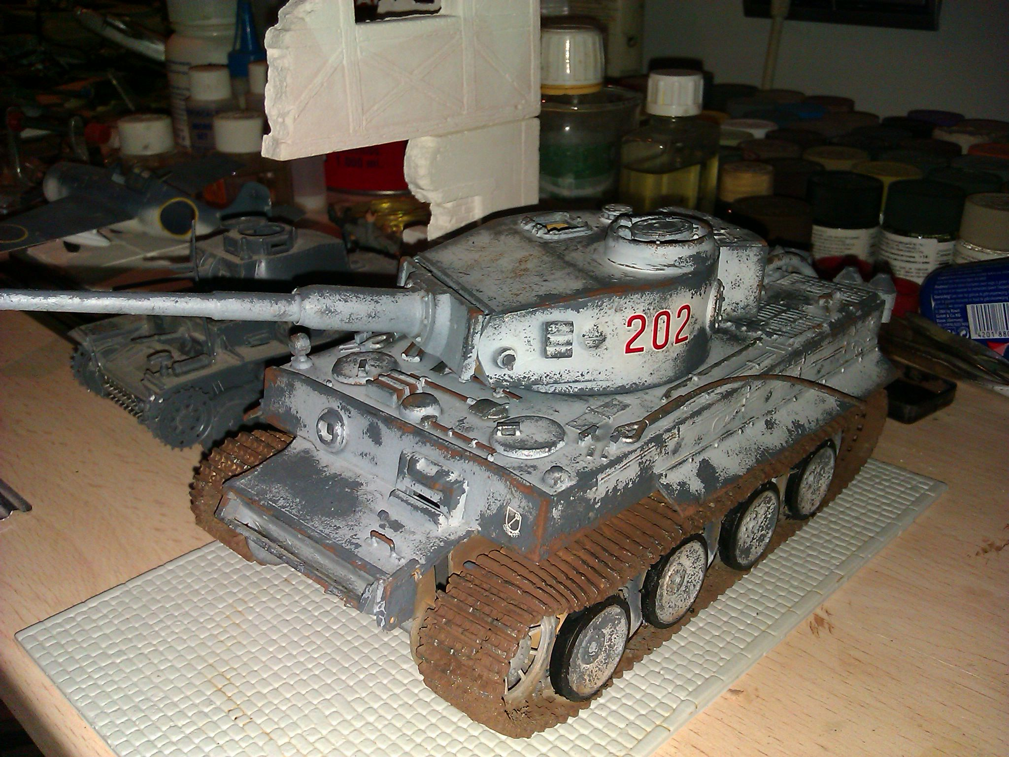 Panzer Vi German Tiger I Initial Production Ausführung