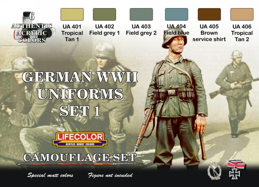 Ww2 Uniform Colors Modelling Wehrmacht Info Scale Models